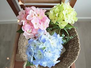 마린 수국 토피어리[3color]
