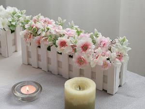 소프트 벚꽃울타리화분 (대)