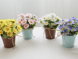 들꽃가득 양철통화분[4color]